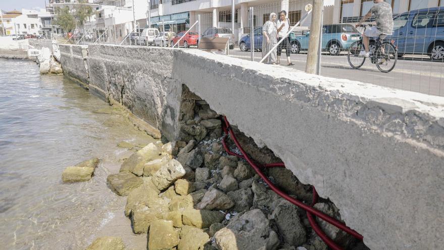 Stadt Palma will Promenade an der Cala Gamba reparieren