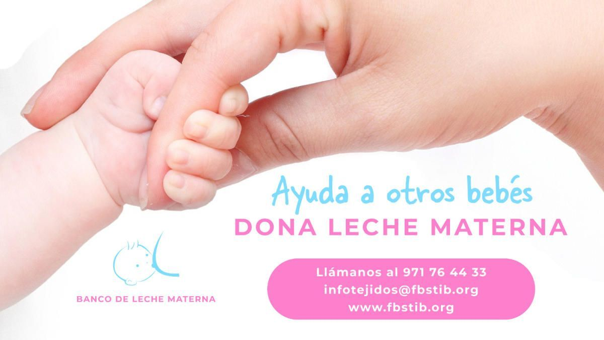Campaña del Banco de Leche Materna.