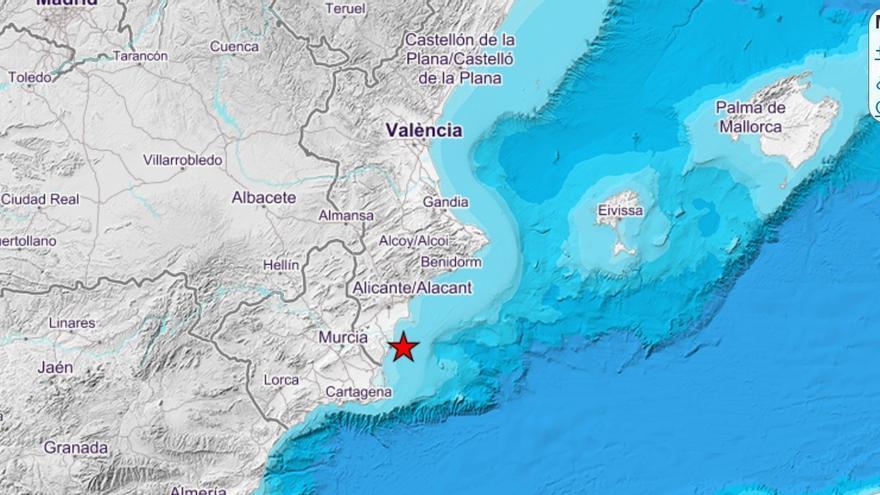 Dos terremotos sacuden en pocas horas el sur de la Comunitat