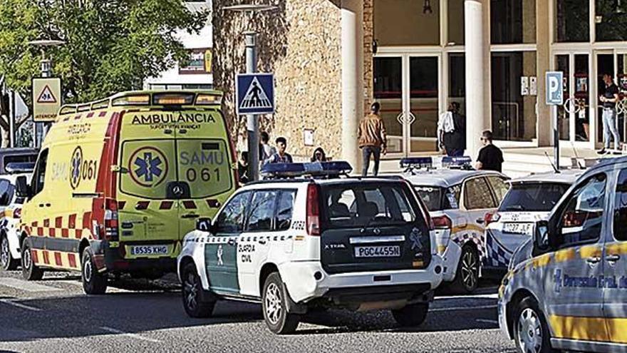 Pelea entre aficionados tras un partido de categoría juvenil en Eivissa