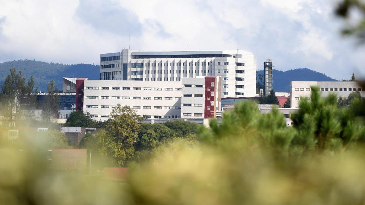 Vista del hospital de Montecelo. // G. Santos
