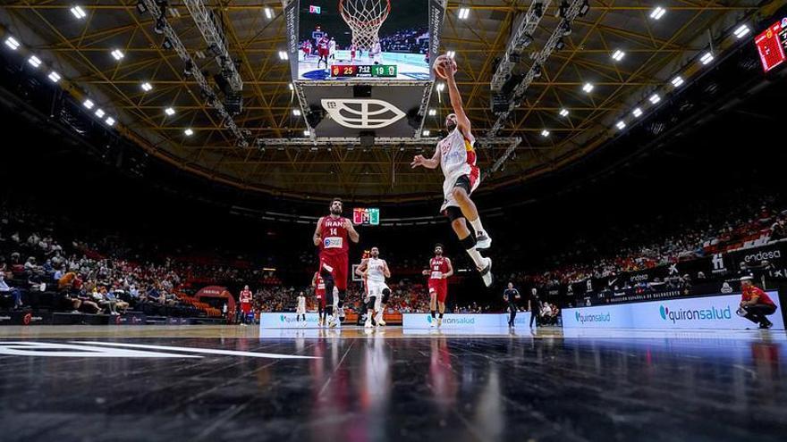 Espanya venç l'Iran camí dels Jocs (88-61)
