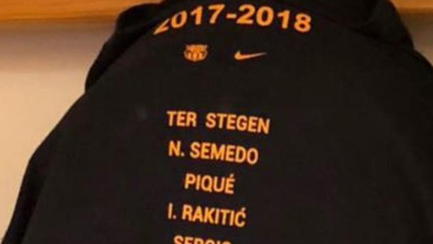 El Barça inclourà a Deulo, Masche i Arda en la samarreta de la rua