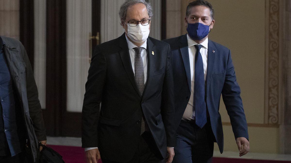 Quim Torra, expresident de la Generalitat.