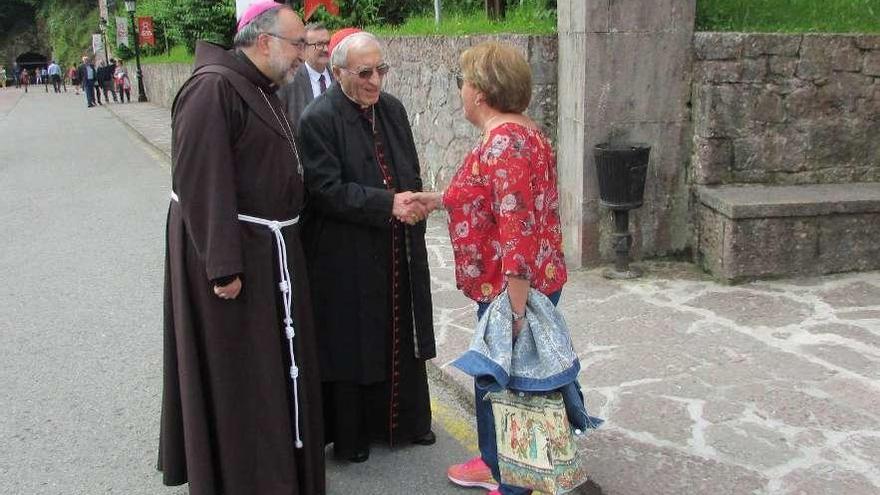 """""""No habría Europa sin Covadonga"""", sentencia Rouco Varela en el santuario"""