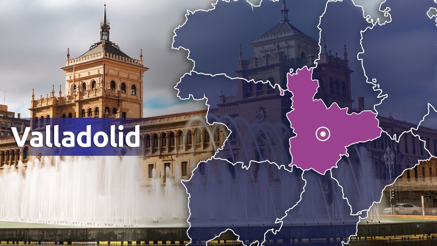 Fallece una mujer de 86 años en una colisión de cuatro turismos en Valladolid
