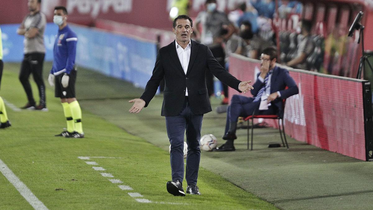 Luis García: «En cuanto al resultado, el punto es una decepción»