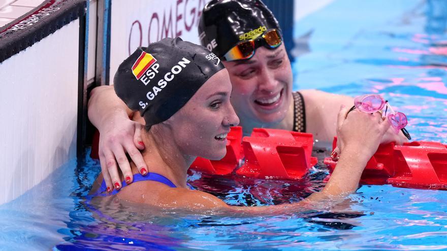 Sarai Gascón, bronce en 100 mariposa S9; España iguala las 31 medallas de Río