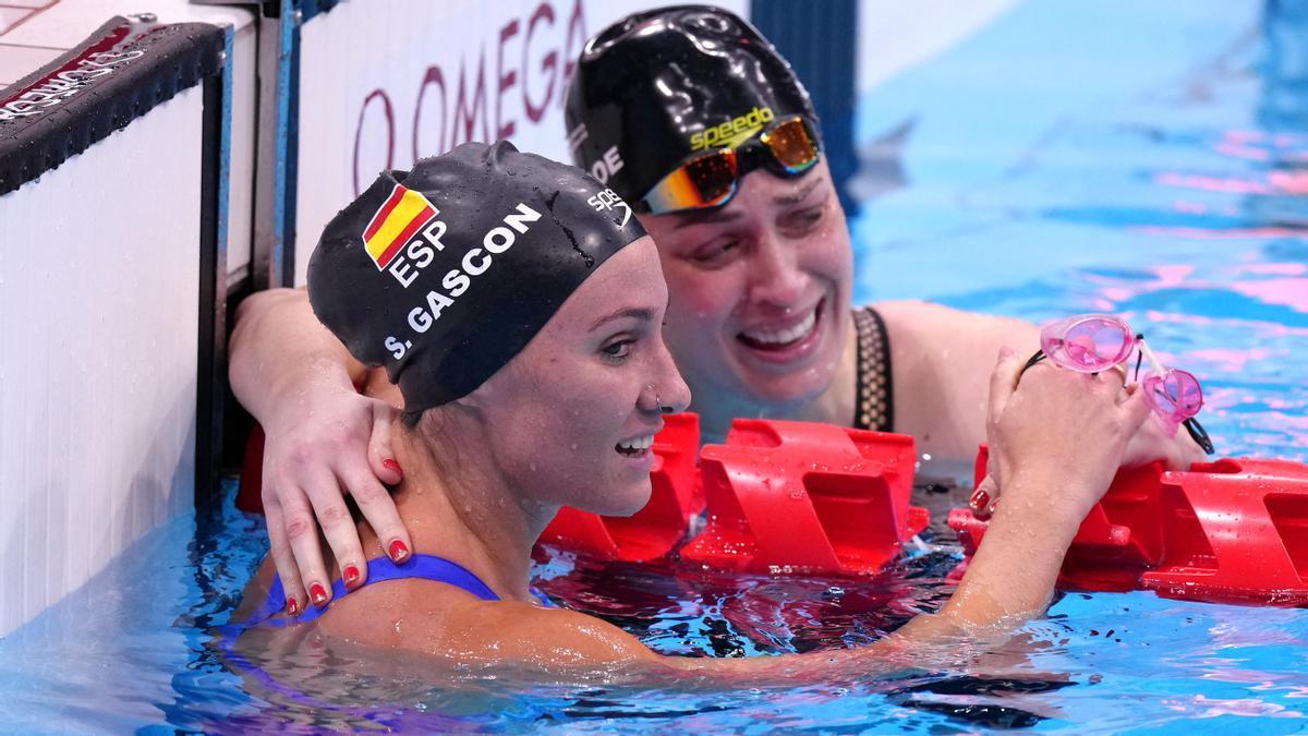 Sarai Gascón tras una prueba en los Juegos Paralímpicos de Tokio
