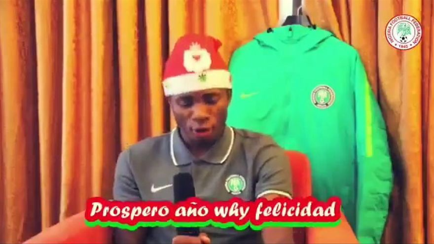 El jugador del Villarreal Samu Chukwueze felicita la Navidad con un imperdible vídeo