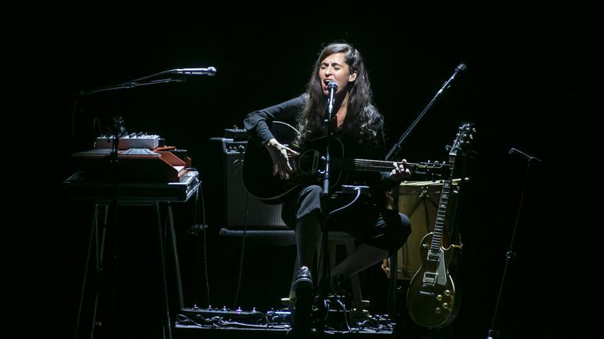 La pluja obliga a suspendre el concert de Sílvia Pérez Cruz a Peralada