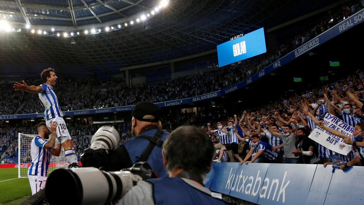 Las mejores imágenes del Real Sociedad - Elche CF