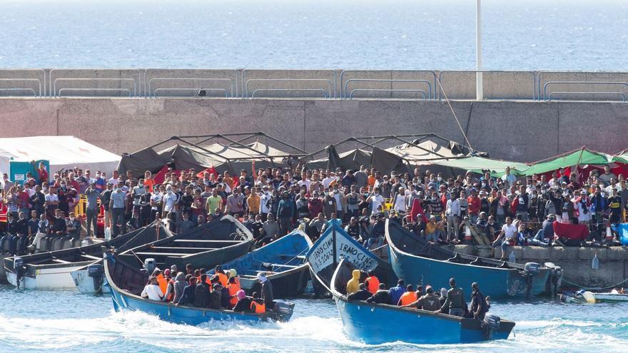 """Una concatenación de errores"""" llevó a sacar a 200 inmigrantes de Arguineguín"""