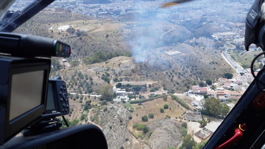 Controlado el incendio en el Monte Coronado