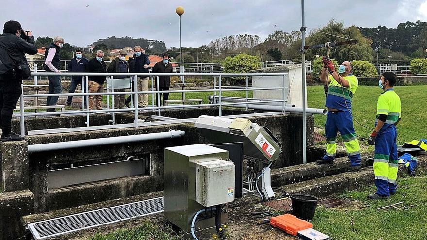 La UTE activará antes de fin de año la depuración ultravioleta en Areamilla y la conexión de Donón