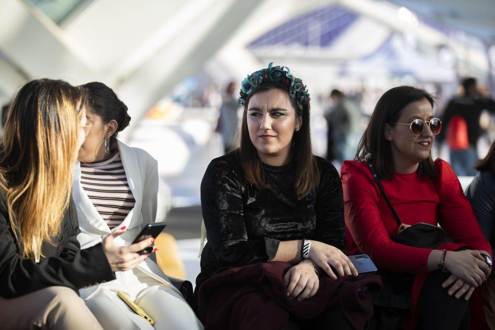 Desfile de moda del festival  CLEC de la diseñadora Dolores Cortes