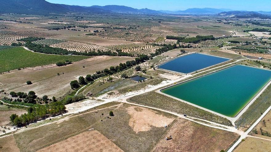Un embalse permitirá a 1.300 agricultores del Vinalopó aprovechar las aguas del río