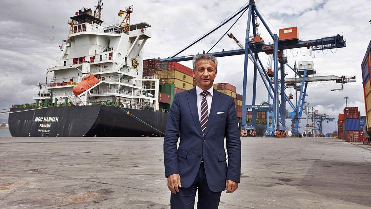 Francisco Toledo, presidente de Puertos y exresponsable del Puerto de Castellón.     // ANTONIO PRADAS MONTOYA