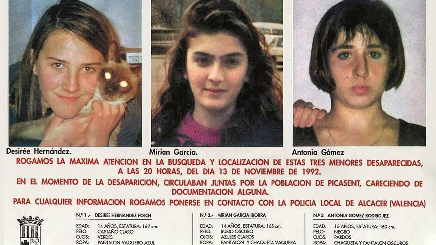 El caso Alcàsser: las imágenes del crimen que marcó a todo el país