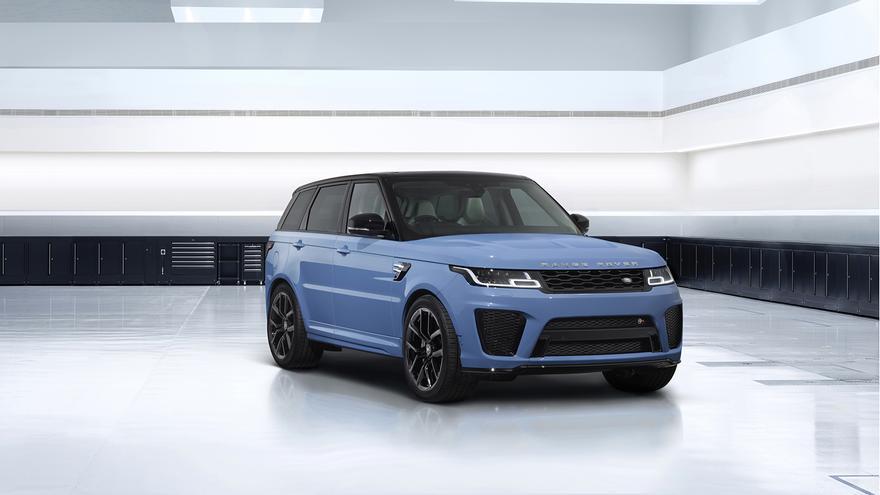 Range Rover Sport SVR Ultimate Edition, máxima deportividad y exclusividad