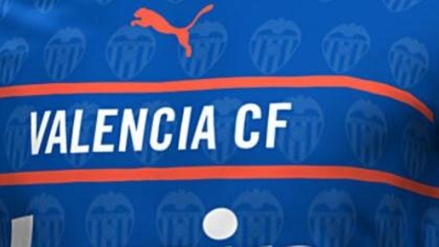 Desvelada la nueva y rompedora camiseta del Valencia CF