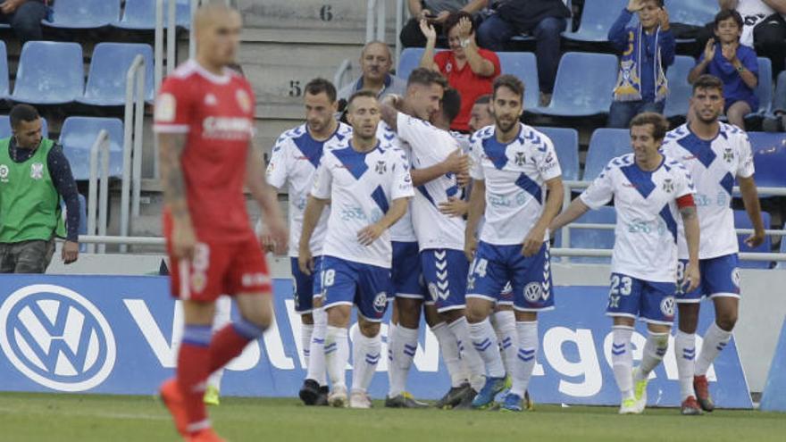 LaLiga 123: Los goles del Tenerife - Zaragoza (1-0)