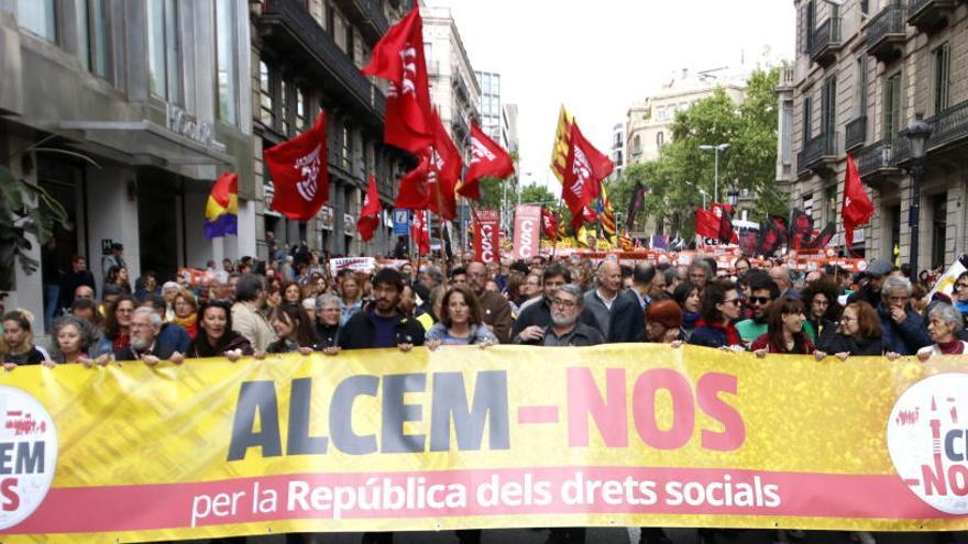 La Intersindical-CSC desconvoca la vaga general del 7 de febrer