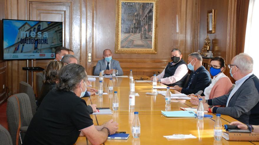 La Mesa de Diálogo Social de Zamora vuelve a la actividad