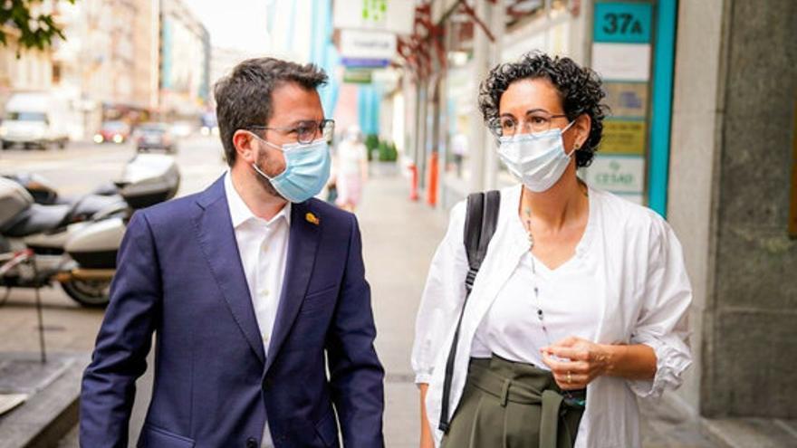 Aragonès es reuneix amb Marta Rovira a Ginebra per primer cop des que és president