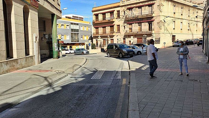 Reordenación vial en Petrer por la reforma del centro urbano