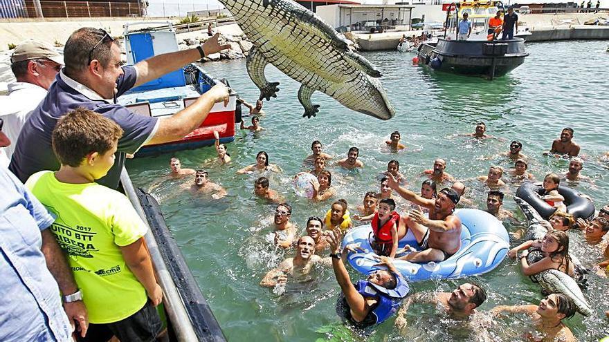 Las peñas del Port planean sustituir las cucañas 2021 por recortes taurinos