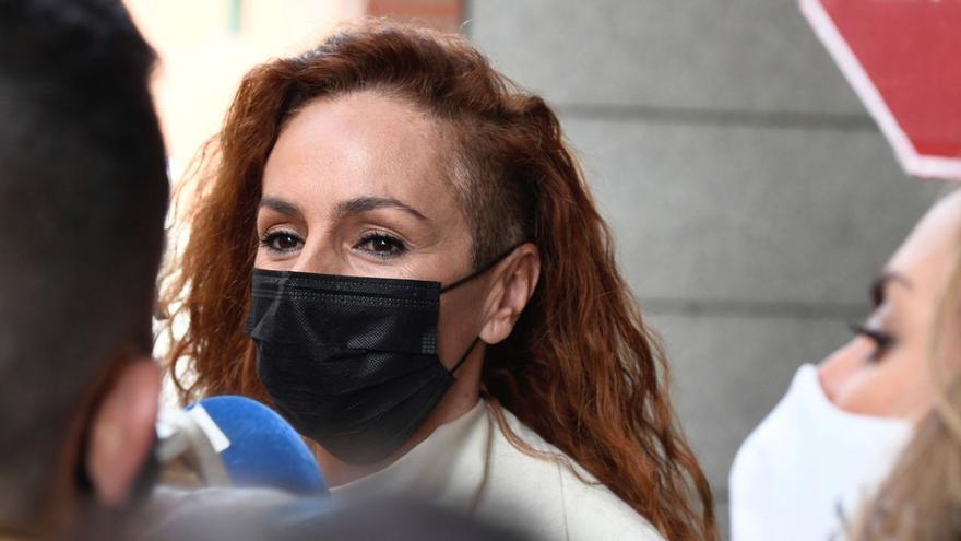Rocío Carrasco, hundida tras perder su principal apoyo contra Antonio David Flores