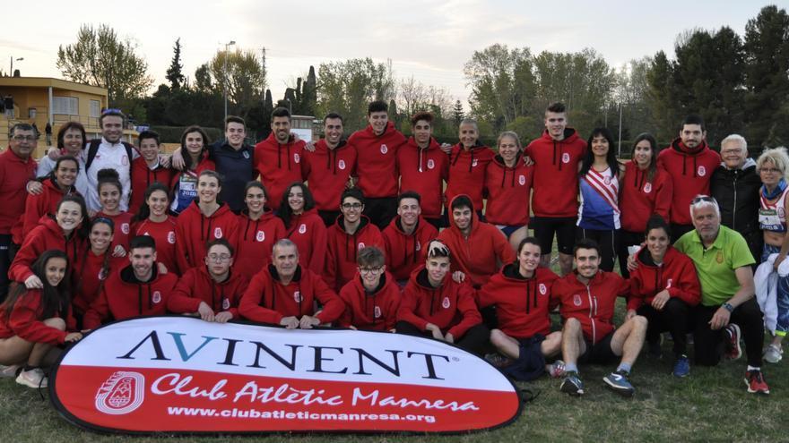 L'Avinent Manresa i el CA Igualada Petromiralles seran a la Copa Catalana de clubs d'atletisme