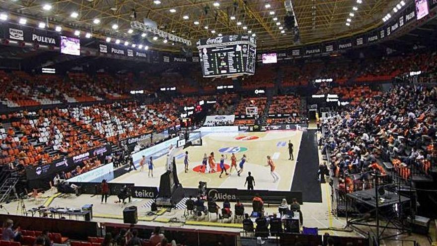 El público podrá volver a La Fonteta en la ACB