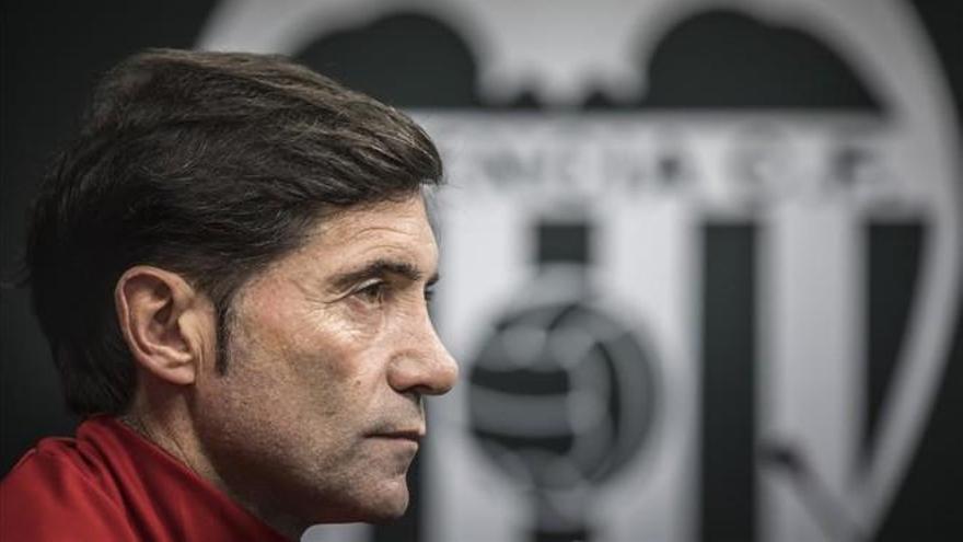 Marcelino, destituido como entrenador del Valencia