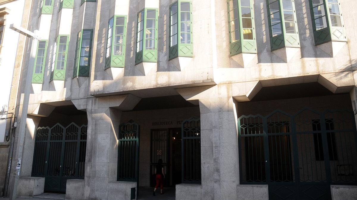 Biblioteca pública de Pontevedra