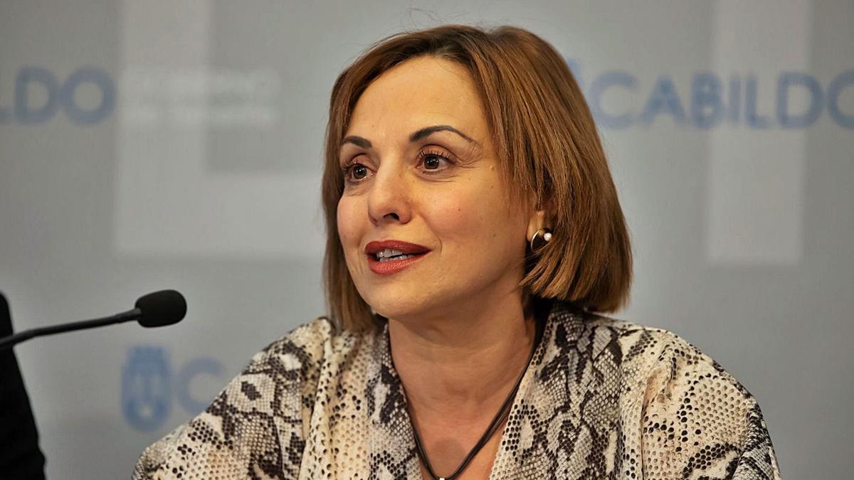 Berta Pérez, consejera de Presidencia y Hacienda del Cabildo de Tenerife.