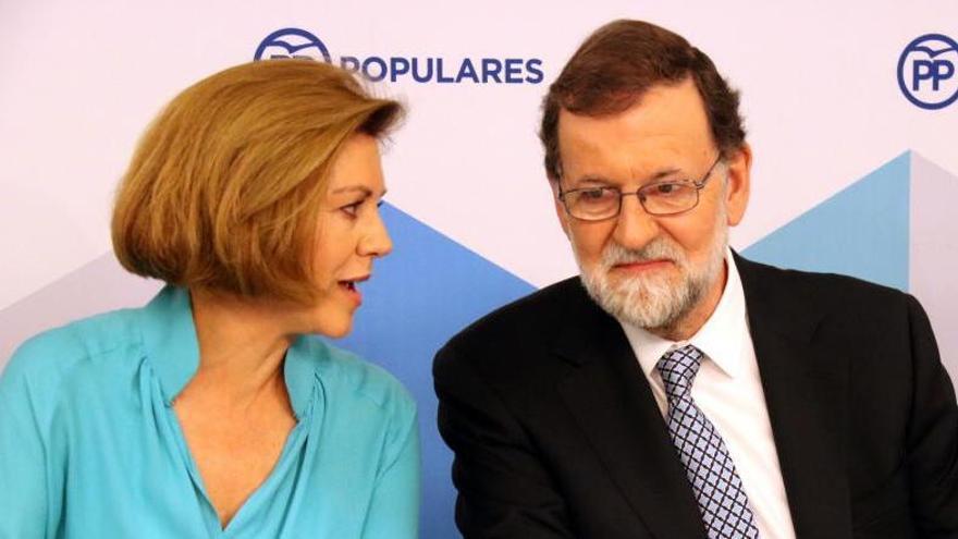 La Fiscalia imputa Cospedal i López del Hierro en l'espionatge il·legal a Bárcenas