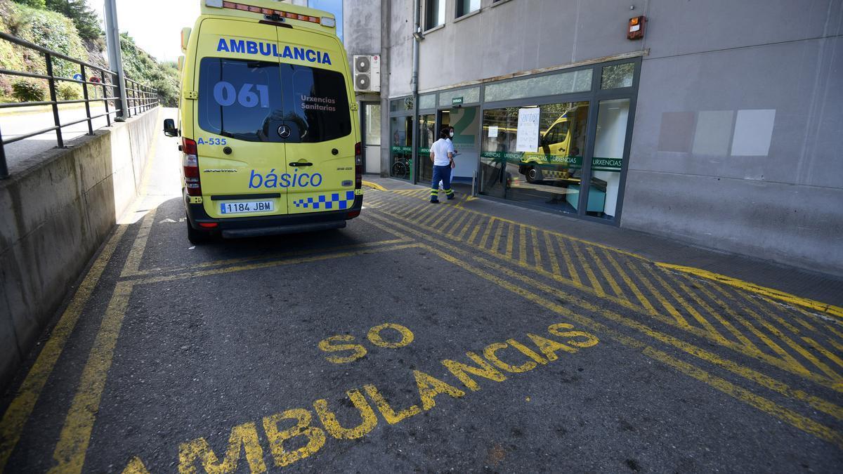 Entrada de Urgencias del Hospital Montecelo.