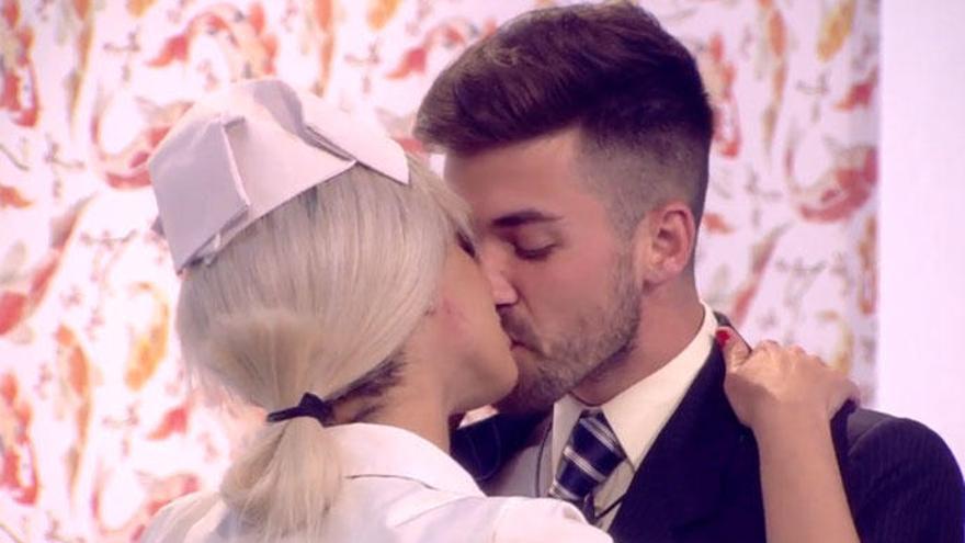 'Gh Dúo': Alejandro e Ylenia se besan en la prueba semanal