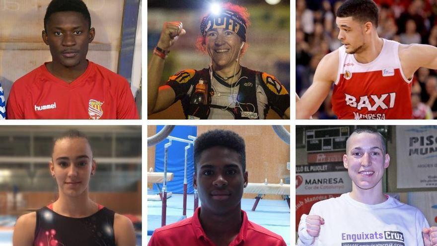 Aquests són els 60 esportistes que aspiren al premi «gran» de la Nit de l'Esportista de Manresa