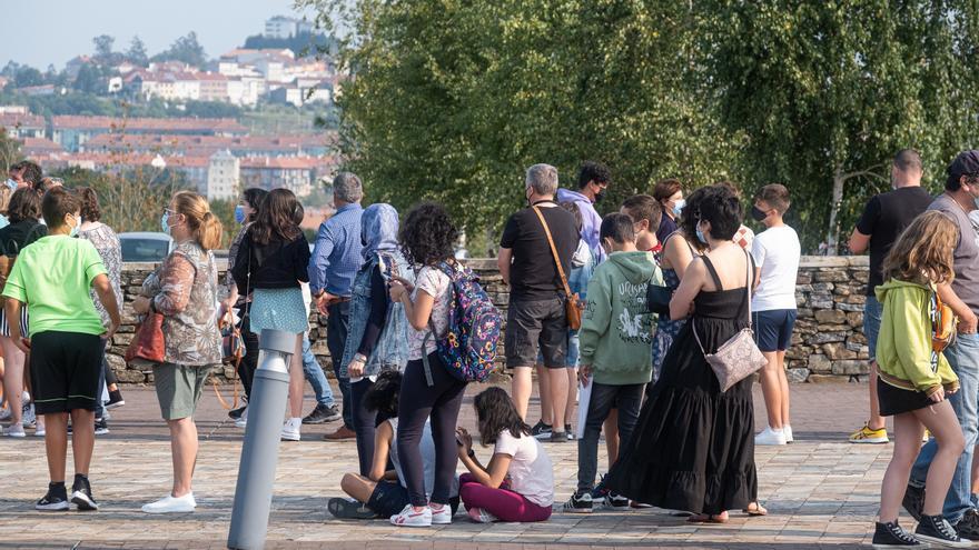 Cubiertas menos de la mitad de las autocitas para la vacunación en Galicia