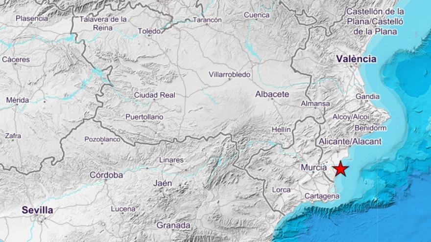 Guardamar del Segura registra un seísmo de 1,6 de magnitud