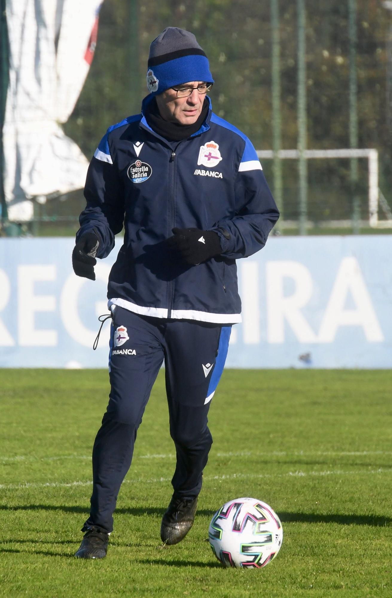 El Dépor prepara el duelo de Copa ante el Alavés sin Uche