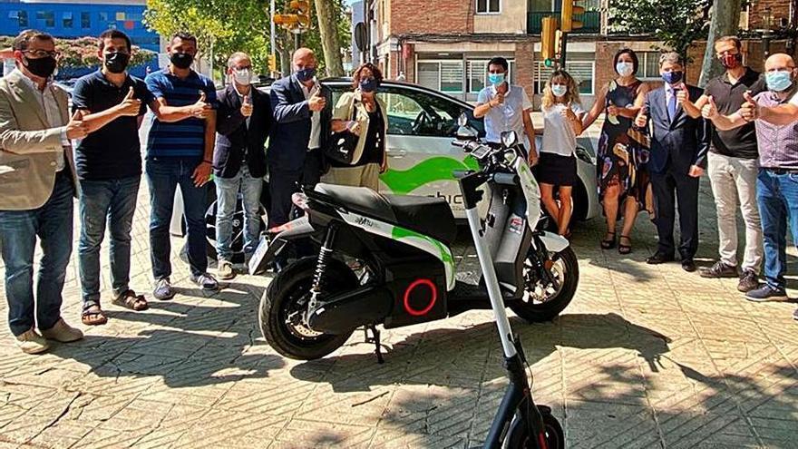 L'Anoia fa un pla pilot de 'car sharing' amb vehicle elèctric