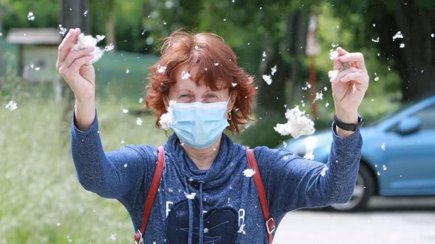 """""""La mascarilla, sobre todo la FFP2, protege de la alergia"""""""