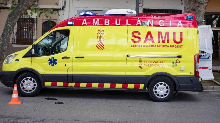 Fallece un motorista de 61 años tras sufrir un accidente en Alboraia