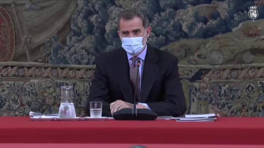 Felipe VI se pone en cuarentena durante 10 días tras haber tenido contacto estrecho con un positivo en coronavirus