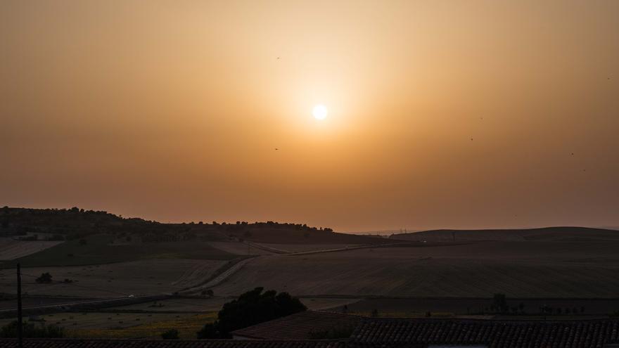 Alerta en Castilla y León por el aumento de partículas de polvo en el aire provenientes de África