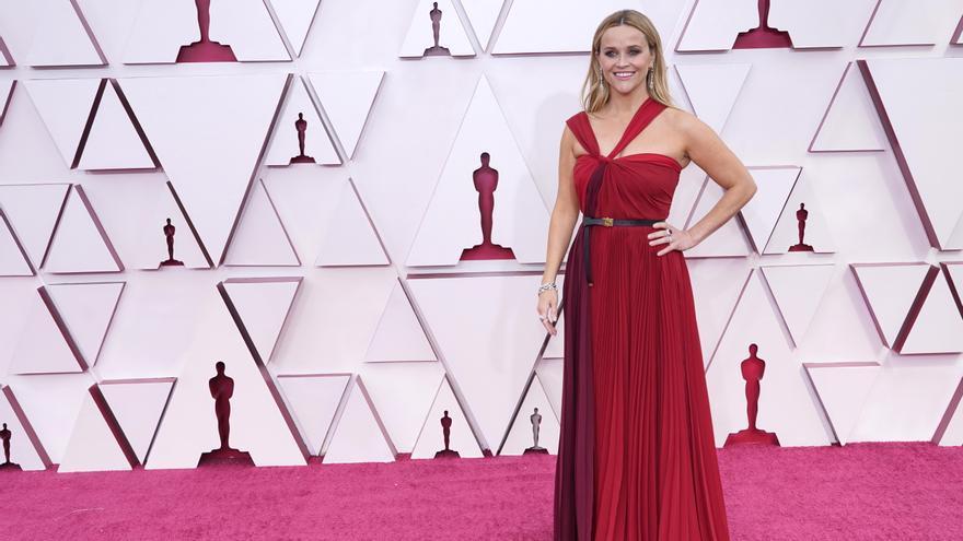 Un diseño de Zara, en la alfombra roja de los Oscar